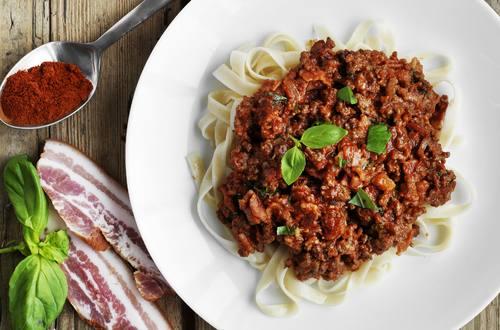 Bolognese med chili