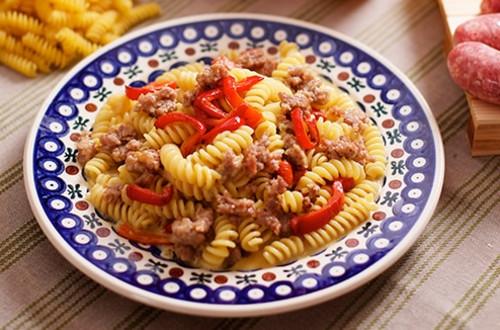 Sausage & Pepper Pasta Dinner