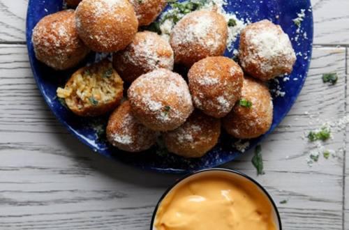 Knorr Cheddar Broccoli Risotto Balls