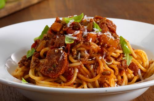 bolognese with a twist