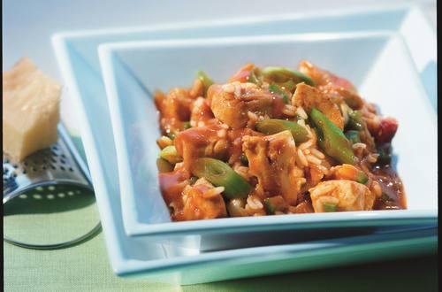Knorr - Serbisches Hähnchen mit Gemüse und Reis