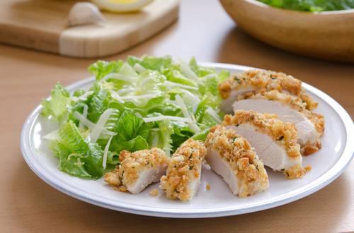 Caesar-Crusted Chicken