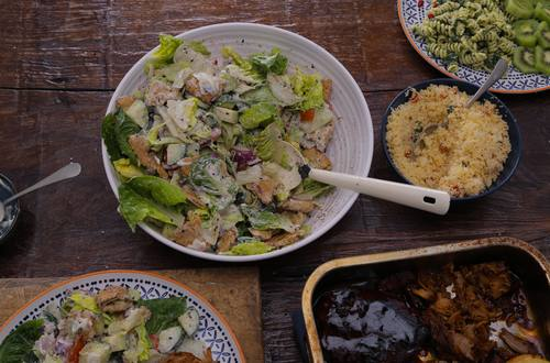 Green Salad & Dressing