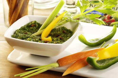 Knorr - Pesto mit Gemüsesticks