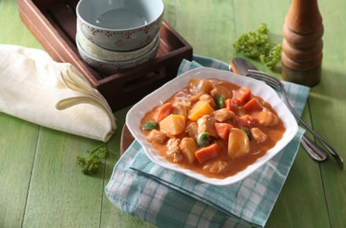 Chicken Tomato Gata Stew Recipe