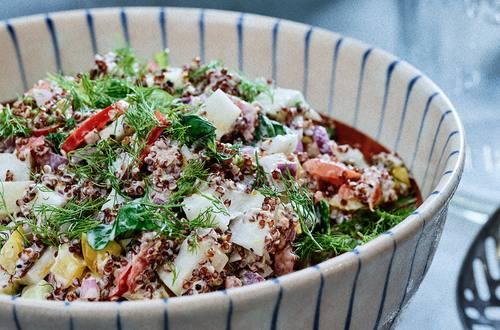Ensalada rápida de Quinoa