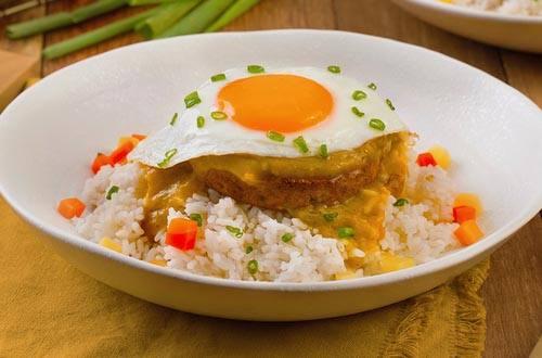 Nasi Hamburg Kari Jepang