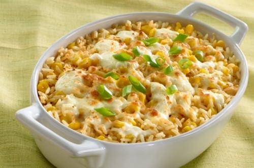 Creamy Rice with Corn