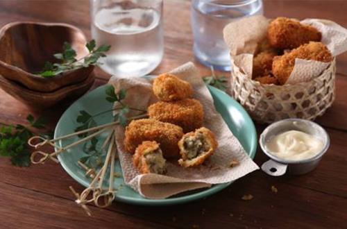 Monggo Croquettes with Aioli Recipe