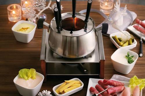 Knorr - Fondue Chinoise mit Fleisch