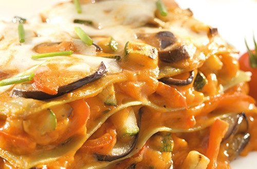 Lasagne de légumes