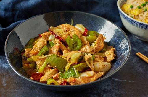 Indian Chinese chilli chicken