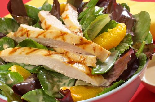 Spicy Chicken Apple Salad