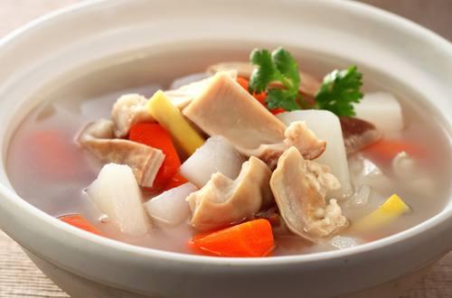 雙彩豬肚湯