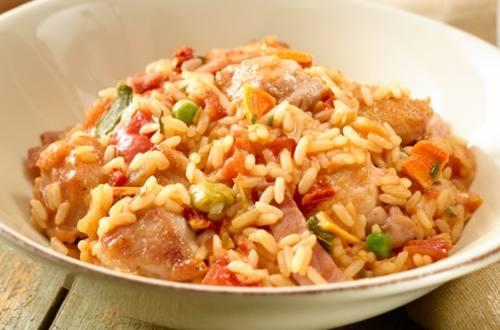Jambalaya au poulet