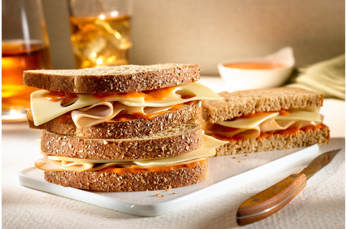 Sandwiches De Pavo Al Chipotle
