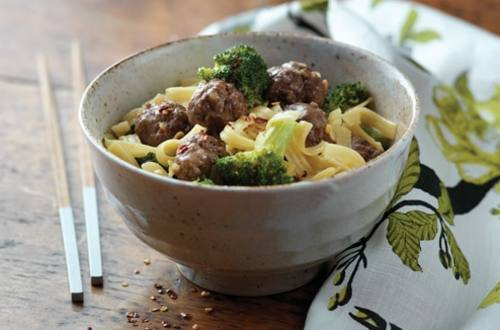 Beef & Broccoli Curry Noodles