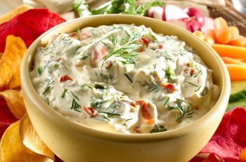 Creamy Dilled Vegetable Dip