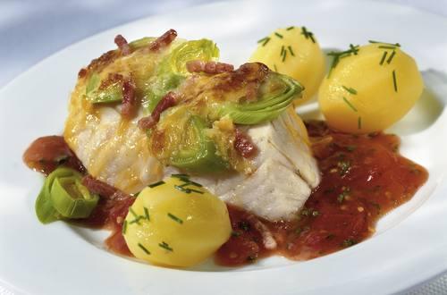 Knorr - Überbackene Lauch-Fischfilets