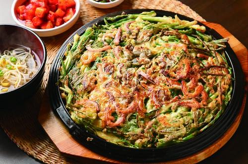 惜食料理-酸辣泡菜海鮮煎餅