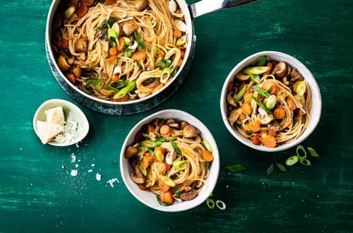 Knorr - One-Pot Pilz-Pasta