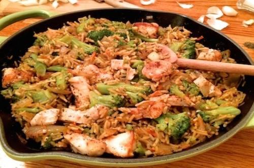 Creamy Chicken & Broccoli
