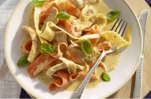 Knorr - Putenbrust-Streifen mit Pastinaken und Möhren