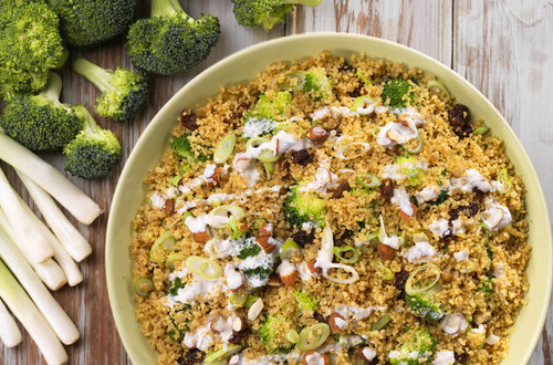 Couscous mit Brokkoli