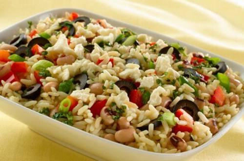 Rice & Black Eyed Pea Salad