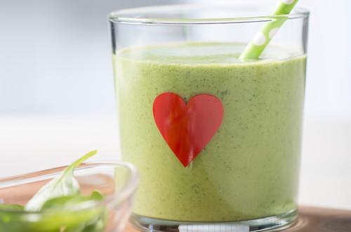 Green Smoothie - Bildausschnitt