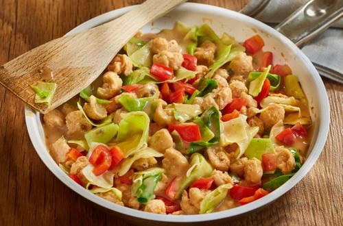 Knorr - Veganes Geschnetzeltes mit Spitzkohl