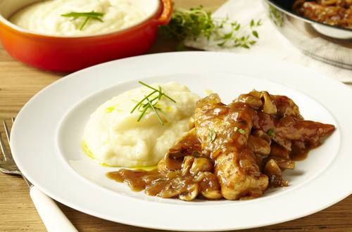 chicken in a marsala wine sauce
