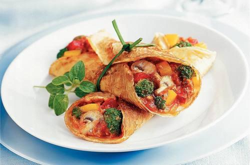 Knorr - Gefüllte Fleisch-Gemüse Palatschinken