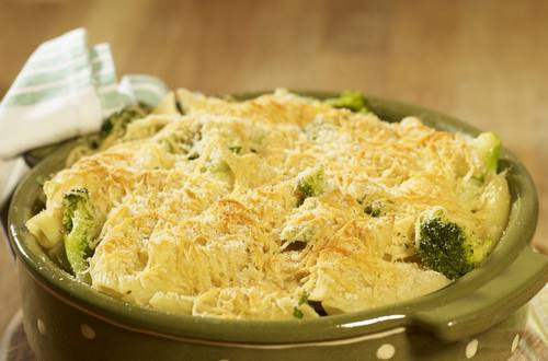 broccoli and pasta bake