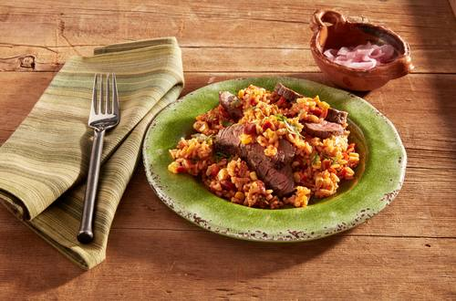 Sizzling Mexican Steak