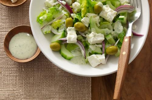 Knorr - Griechischer Gurkensalat mit Schafskäse