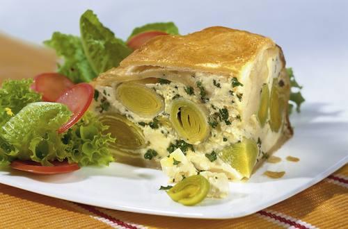 Knorr - Käse-Lauch-Pastete