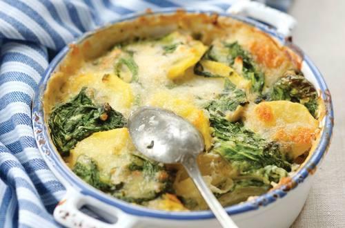 Knorr - Kartoffel-Spinat-Auflauf