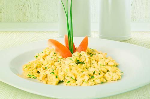 Huevos con Hierbas