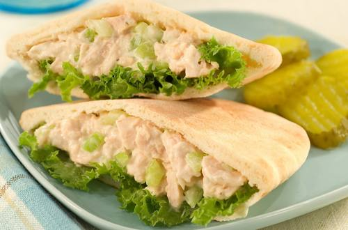 Tuna Salad in Pitas