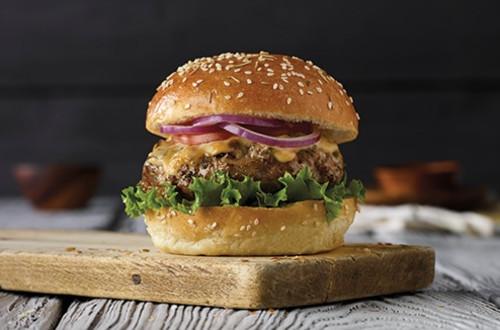 Burgers à la Dinde Epicés et Sucrés