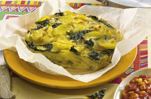 Knorr - Kartoffel-Spinat-Tortilla