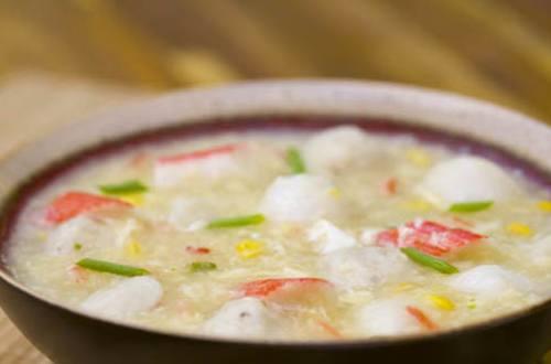 Three Pearl Crab and Corn Recipe