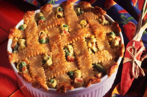 Vegetable & Cheese Pot Pie
