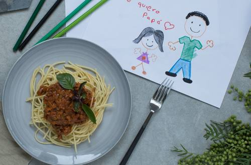 Espagueti estilo Boloñesa