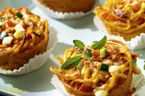 Knorr - Mediterrane Nudelmuffins