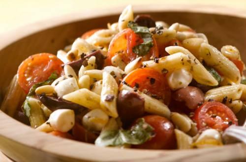 Salade de Pâtes au Pistou et Parmesan