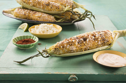 Mexican-Style Corn (Elote)