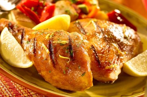 Citrus Rubbed Chicken