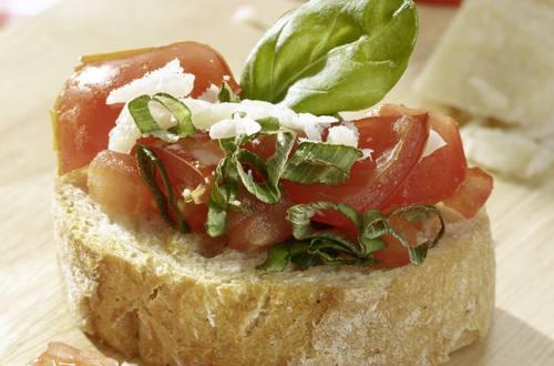 Knorr - Bruschetta mit Cherry-Tomaten